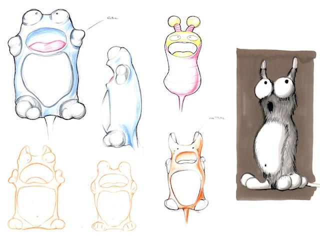 Pogi initial sketches