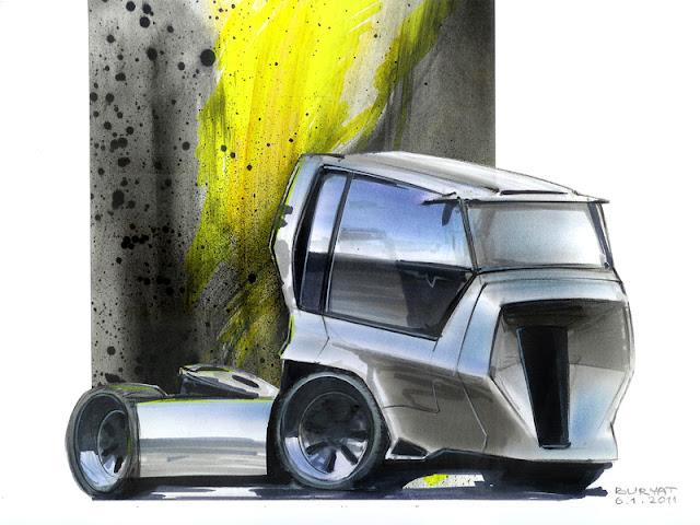 I-truck design sketch