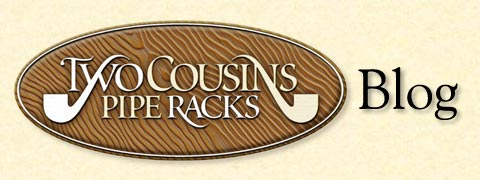 Two Cousins Pipe Rack Blog