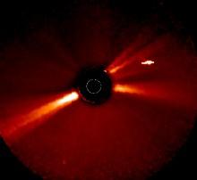 Estranho Objecto perto do Sol