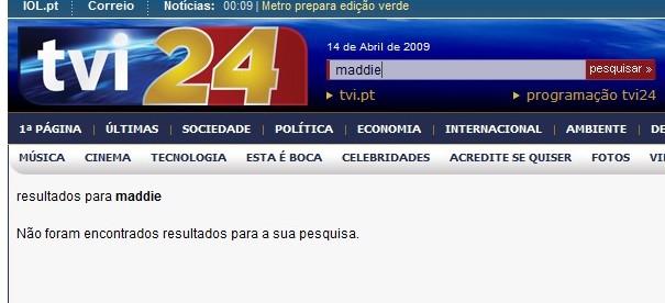 site da TVI 24