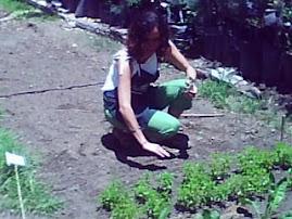 ERENDIRA CASTILLO ALUMNA DE JARDINERIA