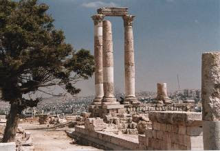 Temple of Hercules, Citadel, Amman