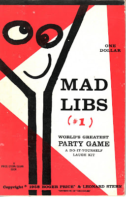 mad libs print out sheets