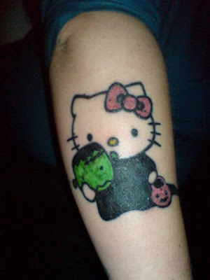 hello kitty tattoos pictures