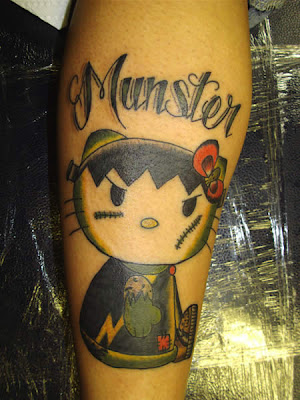 hello kitty tattoos gallery