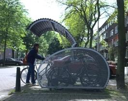 Fietshangar cycle stroage facility on lambethcyclists.org.uk
