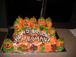 Jillys Takes the Cake HalloweenFall Birthday Cake