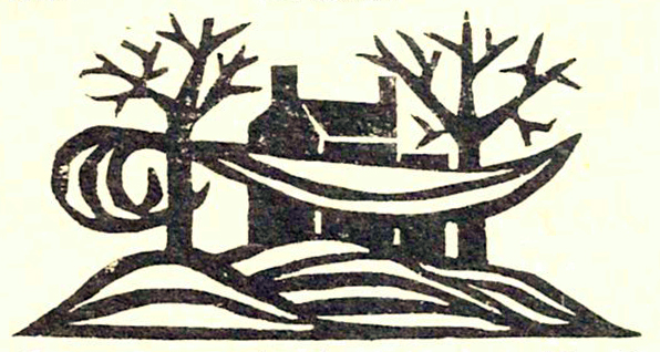 Woodcut image from 1959 publication
