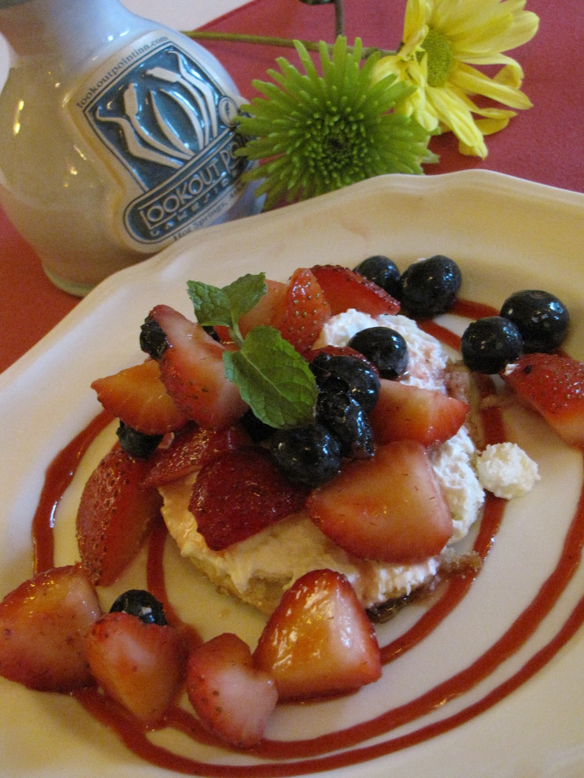 Berry Breakfast Shortcake