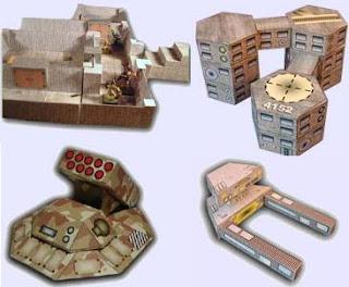 RPG Papercraft