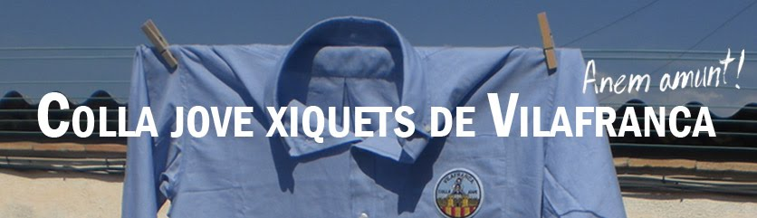 Blog de la Colla Jove Xiquets de Vilafranca