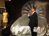 The speech prior to the unveiling