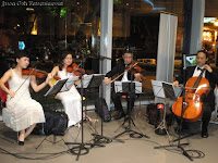 String Quartet from Jason Geh Entertainment performing LIVE