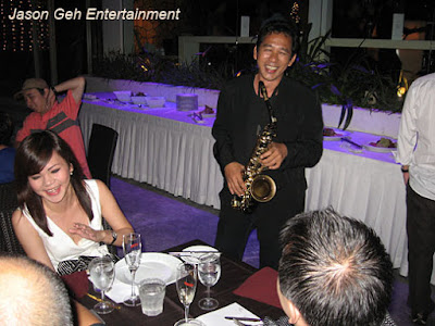 Live Band and Solo Saxophone Entertainment