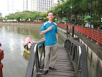 Jason Geh by the river