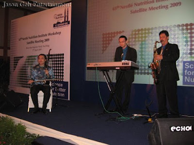 Live Music Band Performing - Trio