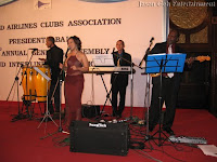 Jason Geh's Event Band performing live at waca's president ball