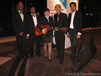 An image of Jason Geh and his Music Band taken after the event