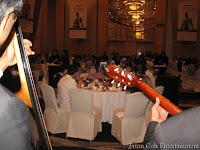 Music Band Live Entertainment during dinner in the ballroom