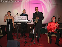 Jason Geh Jazz Band performing LIVE at the wedding event
