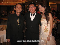Jason Geh, Chris Lai and Wei Wei