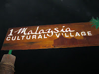 1 Malaysia Cultural Village was the venue of the event
