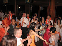 Guests dancing and having a good time