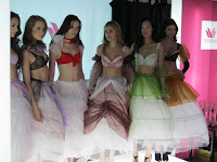 All models at the end of the fashion show