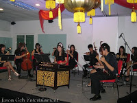 12 piece Chinese Orchestra performing