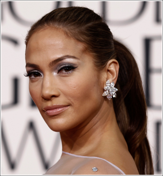 jennifer lopez hair 2011. Jennifer Lopez hair and makeup