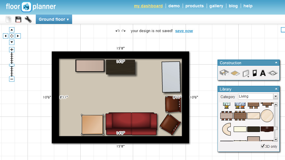 Wotw rearrange your house virtually housewife eclectic for Floorplanner login