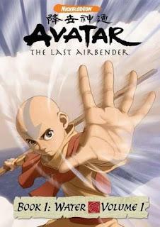 Avatar the last airbender-Book 1: Water Avatar+livros+1