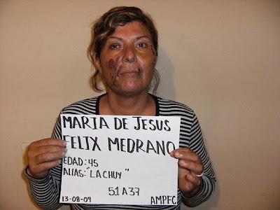 """MARIA DE JESUS """"LA CHUY"""" FELIX MEDRANO,:- necroton capsulas para que"""