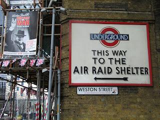 Bomb Shelter Sign