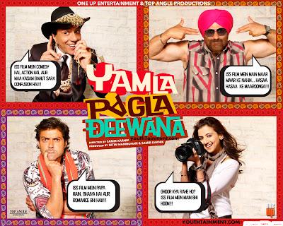 Yamla-Pagla-Deewana-images-audio-songs-photos-review