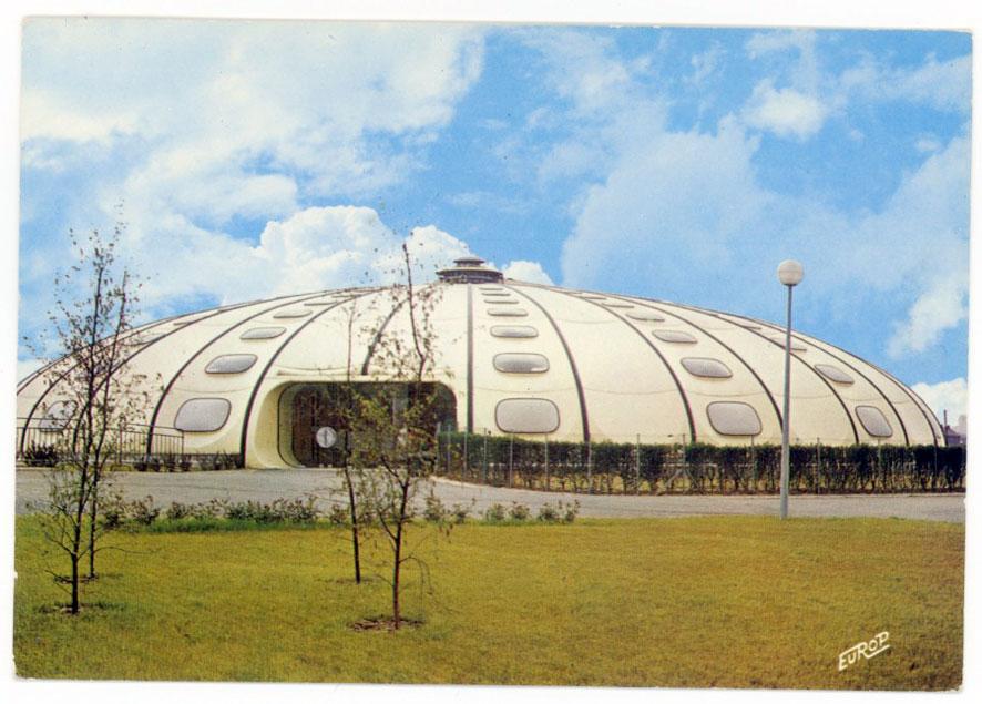 Architectures de cartes postales 1 les tournesols du pas for Piscine pas de calais