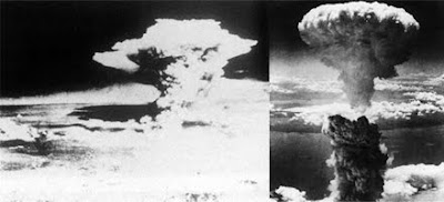 Nagasaki Hiroshima Masroon Clouds