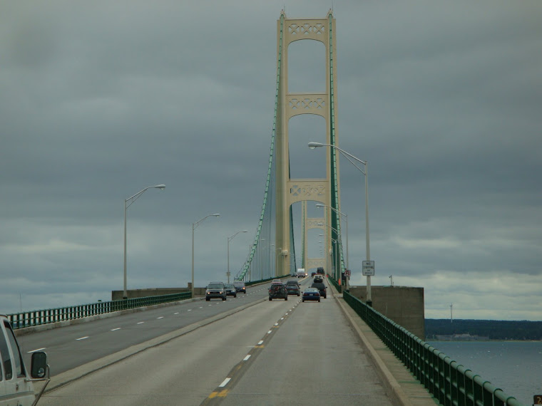 Mackinac Bridge - Longest Suspension Bridge in the Western Hemisphere