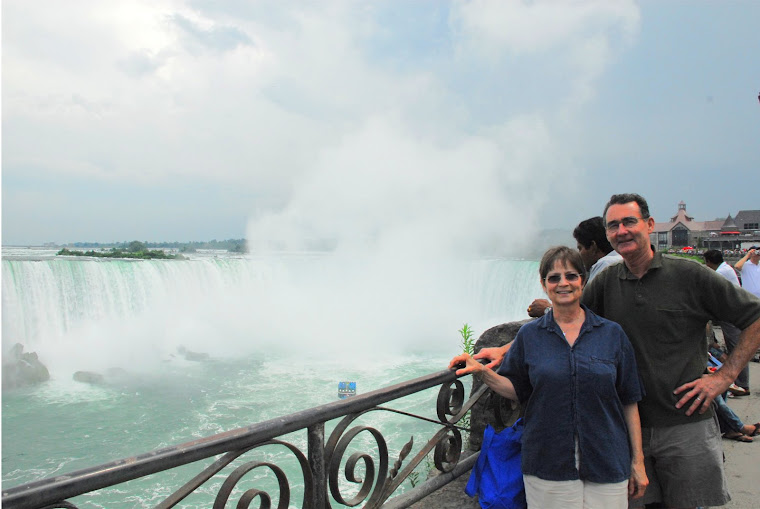 Tourist Photo at Niagara Falls