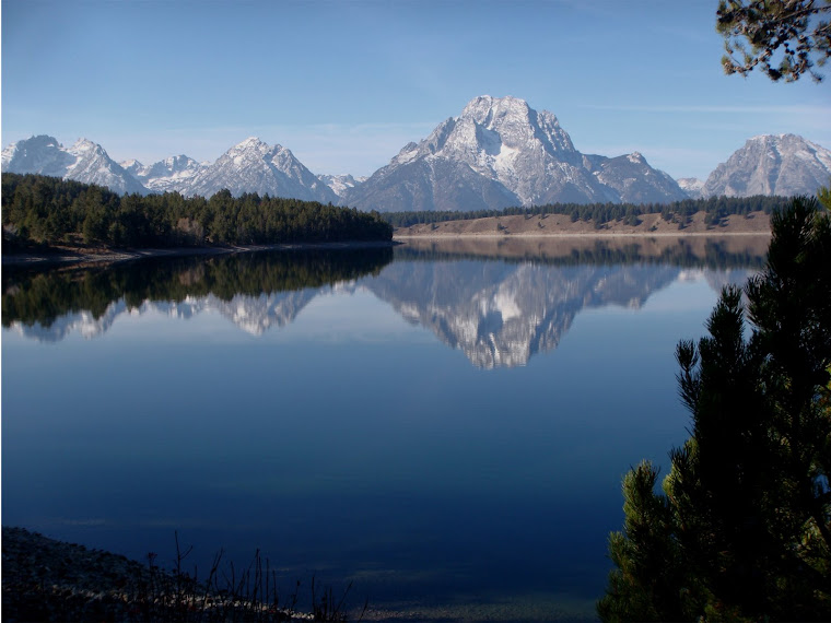 Jackson Lake and the Tetons