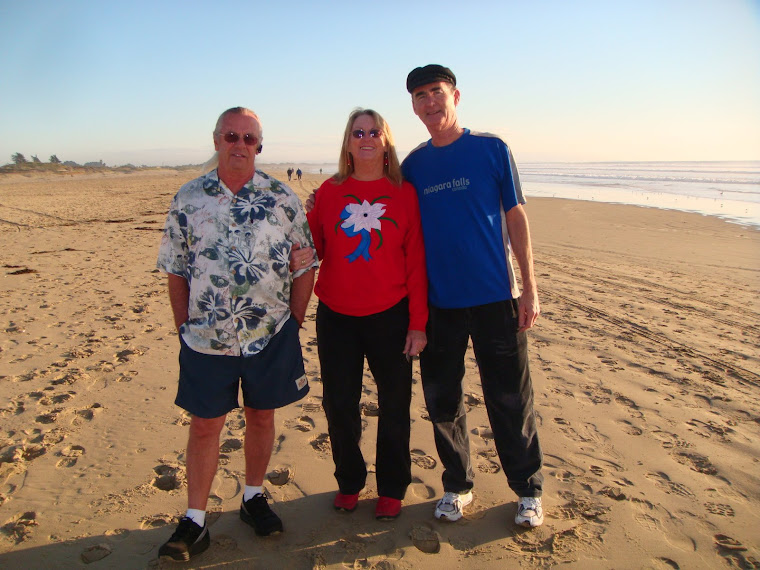 Jerry, Pat (Jerry's Sister) and Bill at Pismo Beach