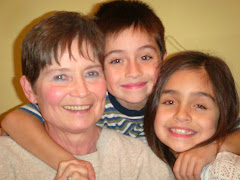 Grandchildren Samantha and Christian (Susan's)