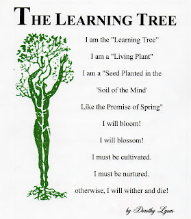 A Collection of Inspirational Poems: The Learning Tree
