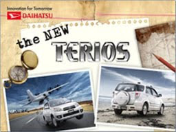DAIHATSU THE NEW TERIOS