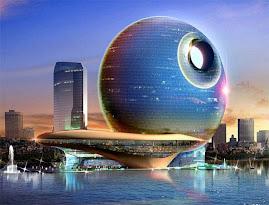 Diseño de Hotel Futurista
