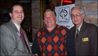 Lou Nisivoccia, Mayor David Scapicchio, and Bill Sohl