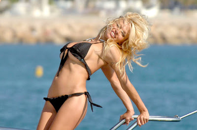 Pamela Anderson hot model of bikini