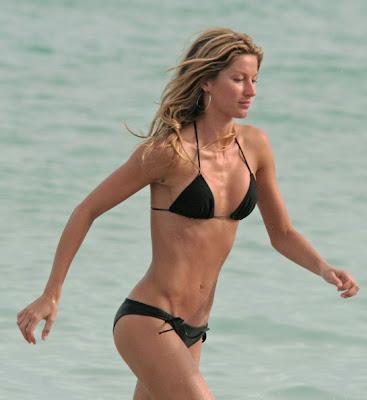 Gisele Bundchen babe bikini swimwear model