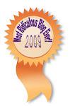Anonymous Blog Award Winner